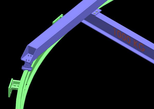 Pont roulant circulaire pour puit turbine - ABMS Consultants