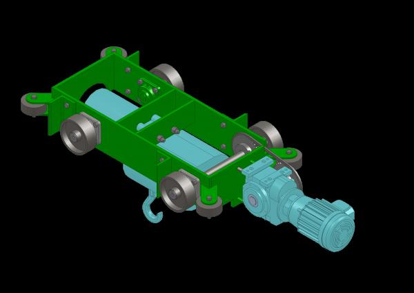 Conception d'un chariot pour pont-roulant - ABMS Consultants